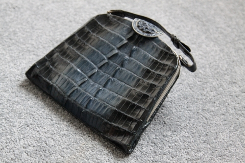 Art Deco alligator purse by Maison De Bonneterie