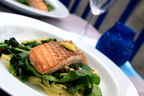 grilled salmon by Asia Jo